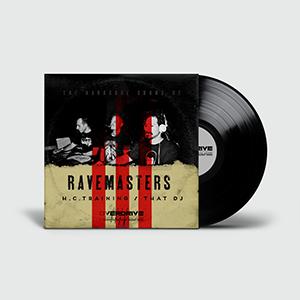 Ravemasters cover vinyl | www.thebranddesigner.com