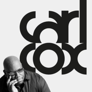brand design: logo Carl Cox