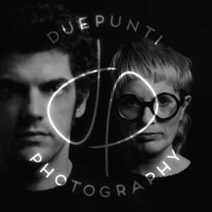 brand design: logo DuePunti Photography