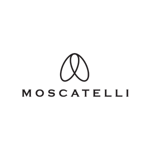 Moscatelli logo | www.thebranddesigner.com