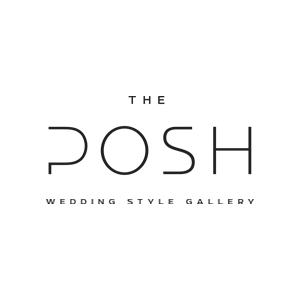 The Posh Wedding logo | www.thebranddesigner.com