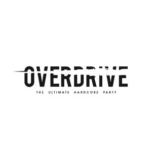 Overdrive party logo | www.thebranddesigner.com