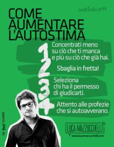 Come aumentare l'autostima | Luca Mazzucchelli