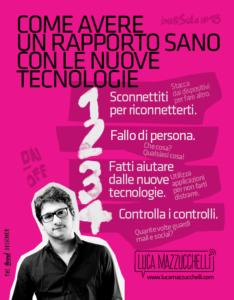 Come avere un rapporto sano con le nuove tecnologie | Luca Mazzucchelli