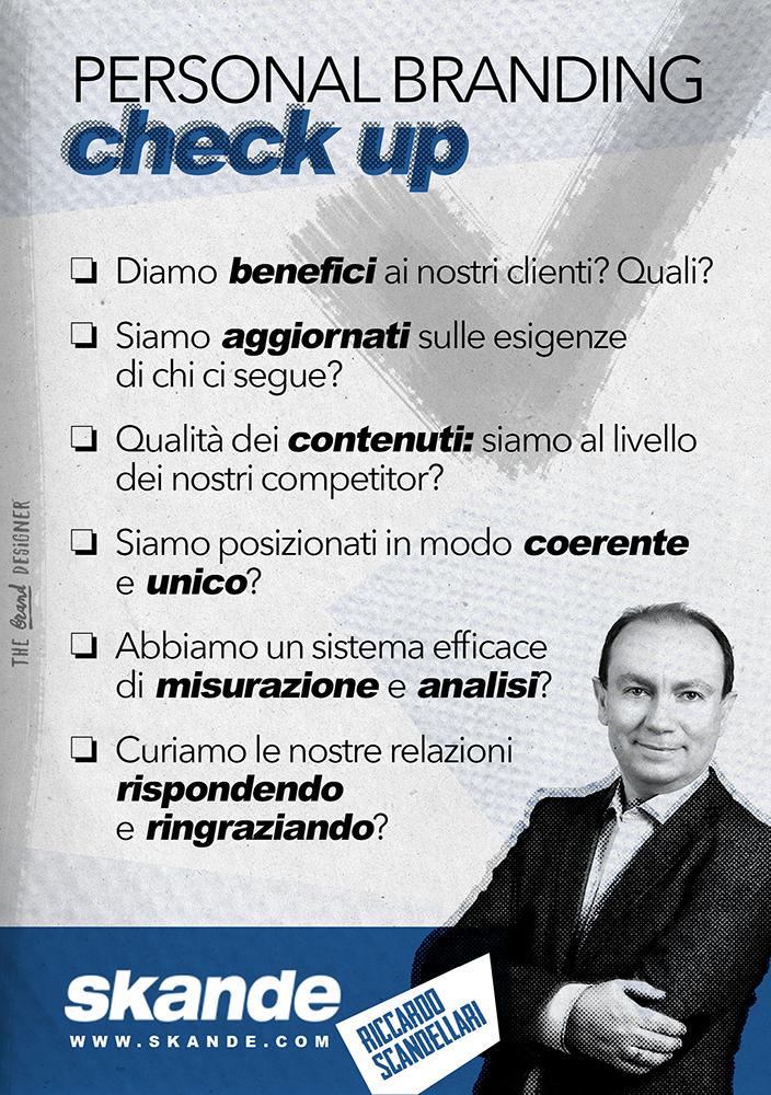 Persona branding check up | Riccardo Scandellari