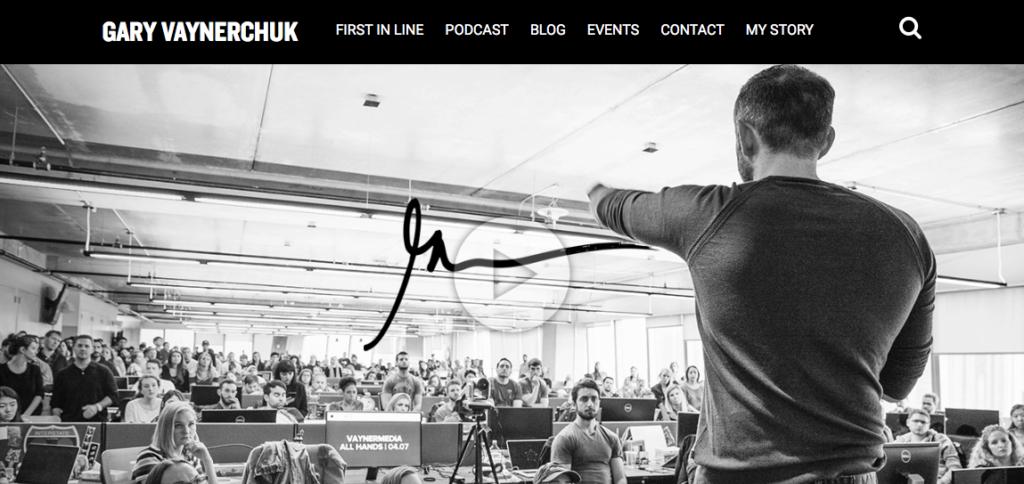 Home page di Gary Vaynechuck