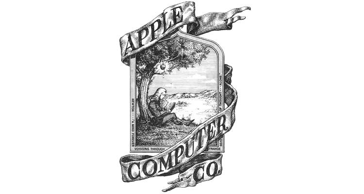 Logo Apple storico 1976