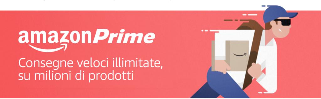 Banner di Amazon Prime