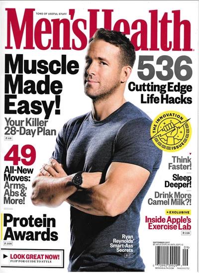 Copertina di Men's Health