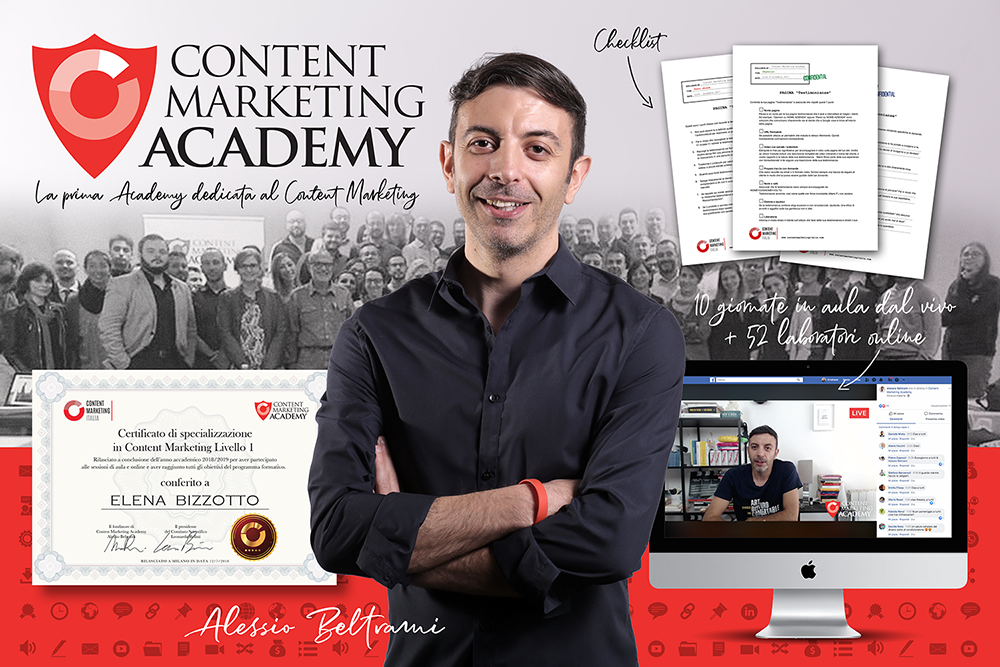 presentazione Content marketing Academy